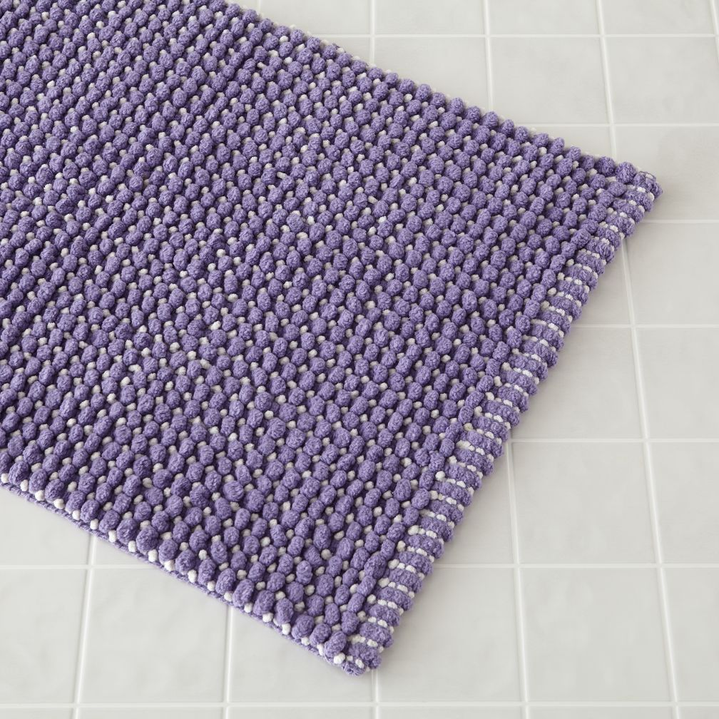 Fresh Start Bath Mat (Lavender)