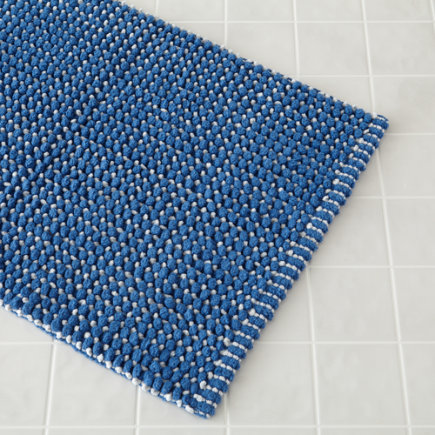 Blue Fresh Start Bath Mat