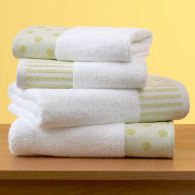 Dots and Stripes Towels