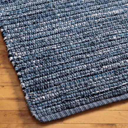 Recycled Blue Jean Crafts – Coiled Denim Rug - Yahoo! Voices