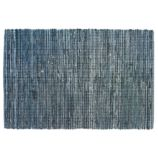 True Blue Rag Rug