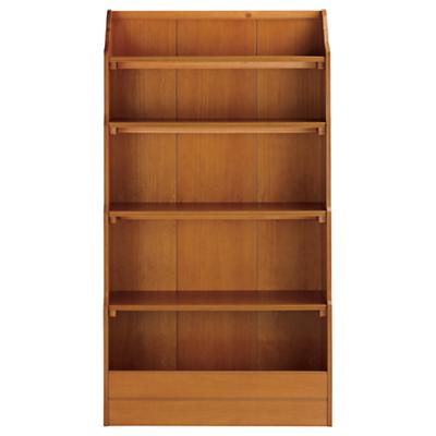 "60"" Bankable Bookcase (Lt. Honey)"