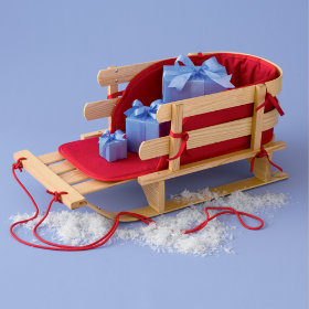 Kids Classic Handcrafted Sled