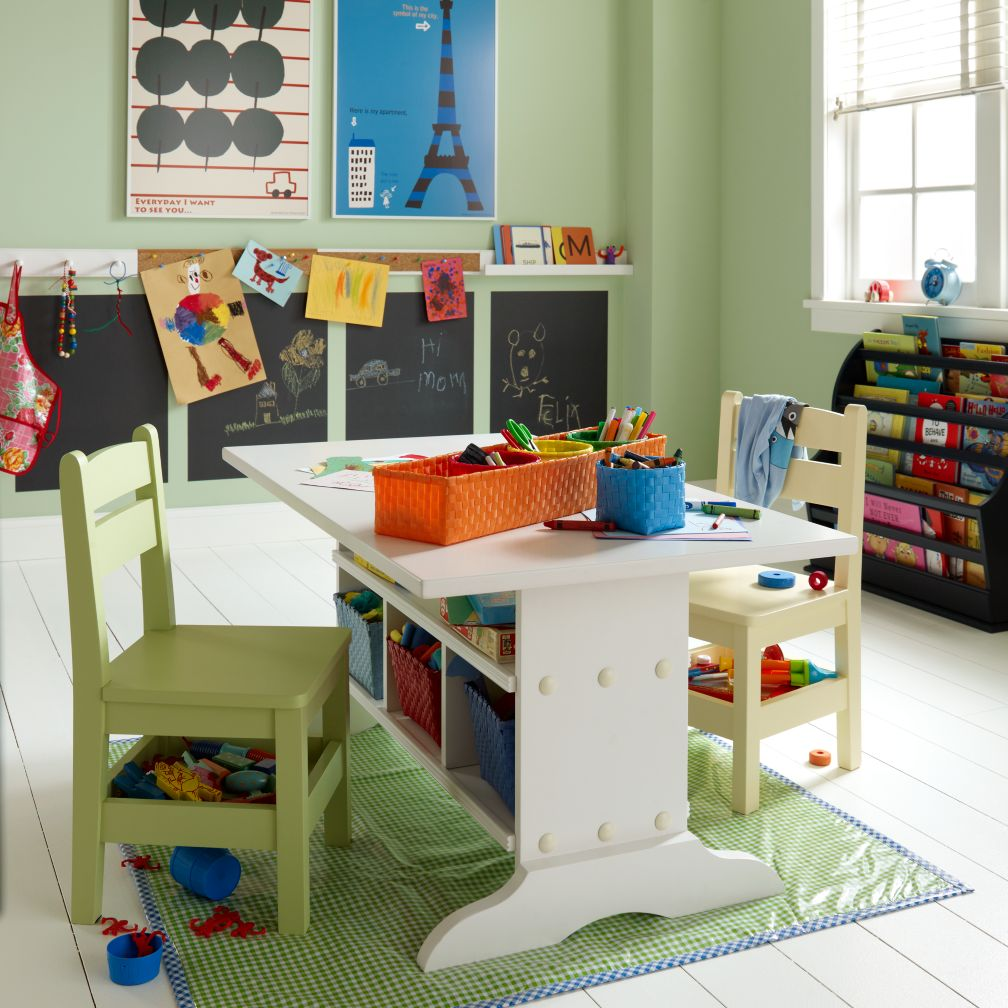 White Elementary Table