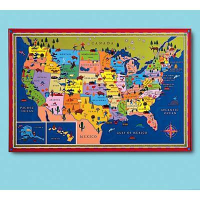This Map is Your Map Framed Wall Art