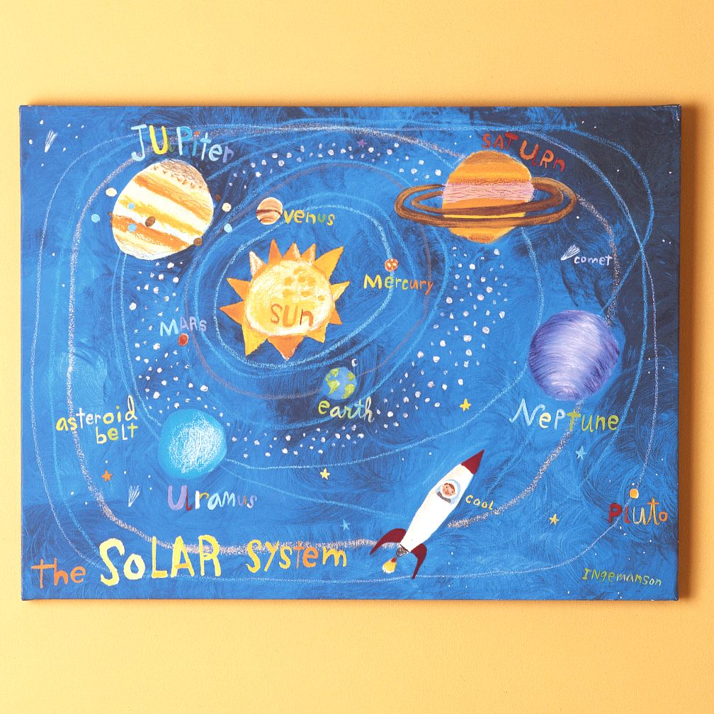 solar system paintings - photo #11