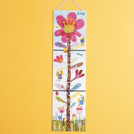 Kids growth charts kids room decor for Growth chart for kids room