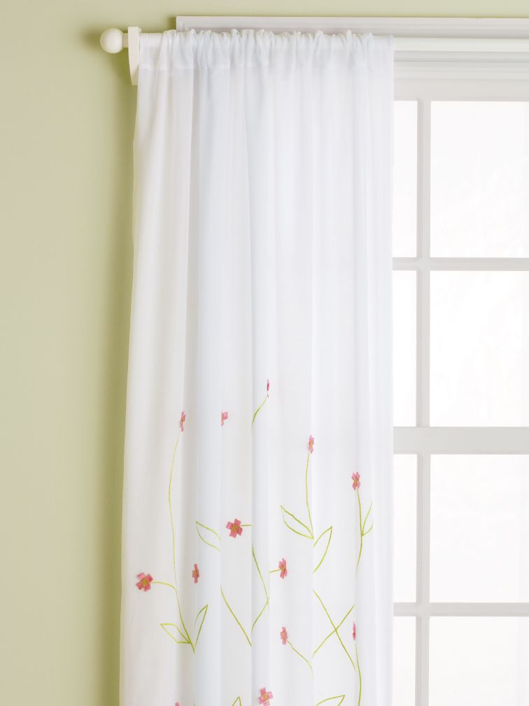 Hanging Garden Curtains (Pink)