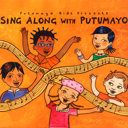 Sing Along with Putumayo by Various Artists - Sing Along with Putumayo CD