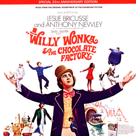 Willy Wonka & The Chocolate Factory by Leslie Bricusse & Anthony Newley - Willy Wonka & The Chocolate Factory CD