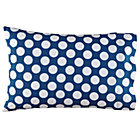 New School Blue and White Dot Organic Pillowcase