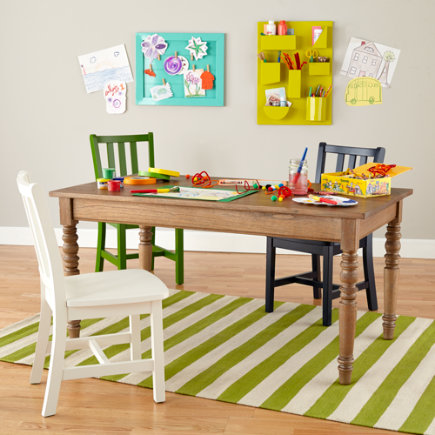 Kids Adjustable Height Play Table (Wheat) - Wheat Everlasting Adjustable Play Table