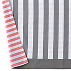 Hop to It Reversible Stripe Crib Skirt