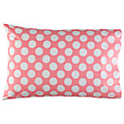 Pink wWhite Dot Pillowcase