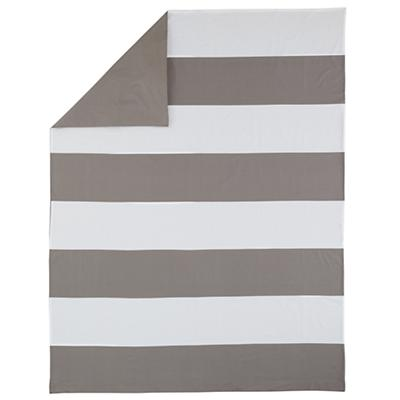 New School Twin Duvet Cover (Widest Stripe)