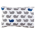 Organic Make a Splash Whale Toddler Pillowcase