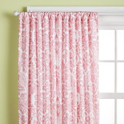 "63"" Dk. Pink Floral Panel<br />(Sold Individually)"