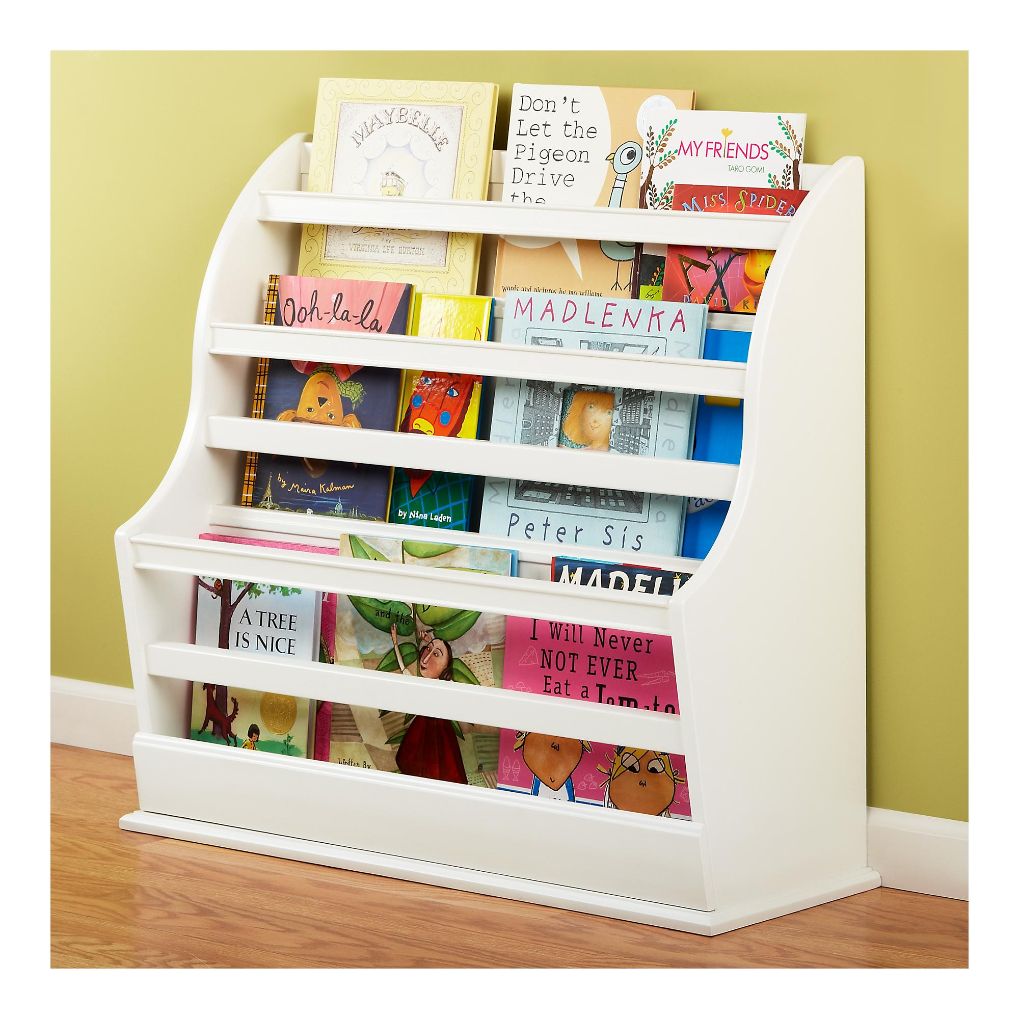 Life is bella front facing bookcase for Book shelf for kids room