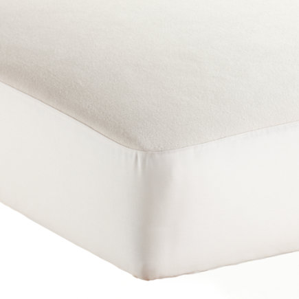 Naturepedic Organic Crib Mattress Pad - Organic Waterproof Crib Mattress Pad by Naturepedic
