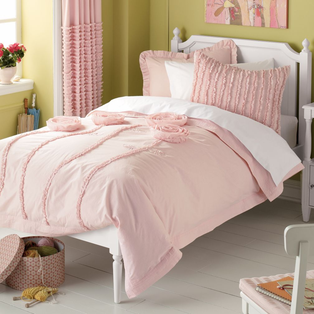 Rebecca S Round Up Little Girl S Room Green Amp Pink Style