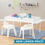 Medium Adjustable Activity Table (White)