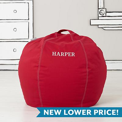 "30"" Cool Beans! Bean Bag Chair (New Red)"