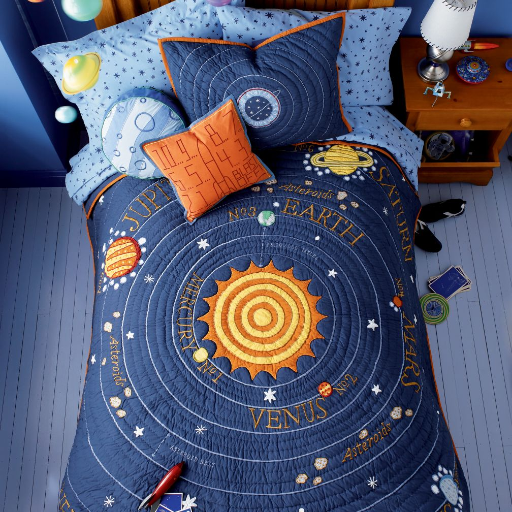 Kids Solar System Bedding