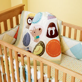 Gender-Neutral Animal Crib Bedding
