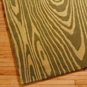 Wood Grain rug from The Land of Nod