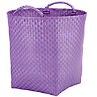 Lavender Strapping Floor Bin