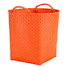 Orange Floor Strapping Bin