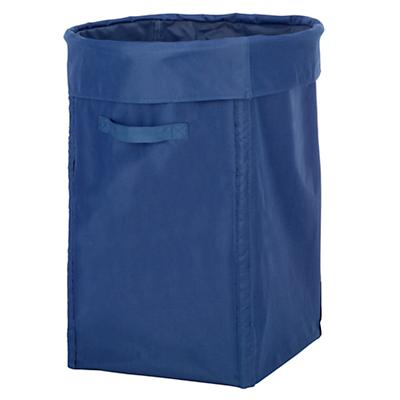 I Think I Canvas Blue Hamper