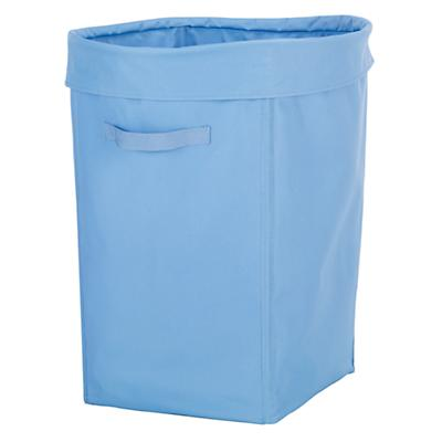 I Think I Canvas Hamper (Lt. Blue)