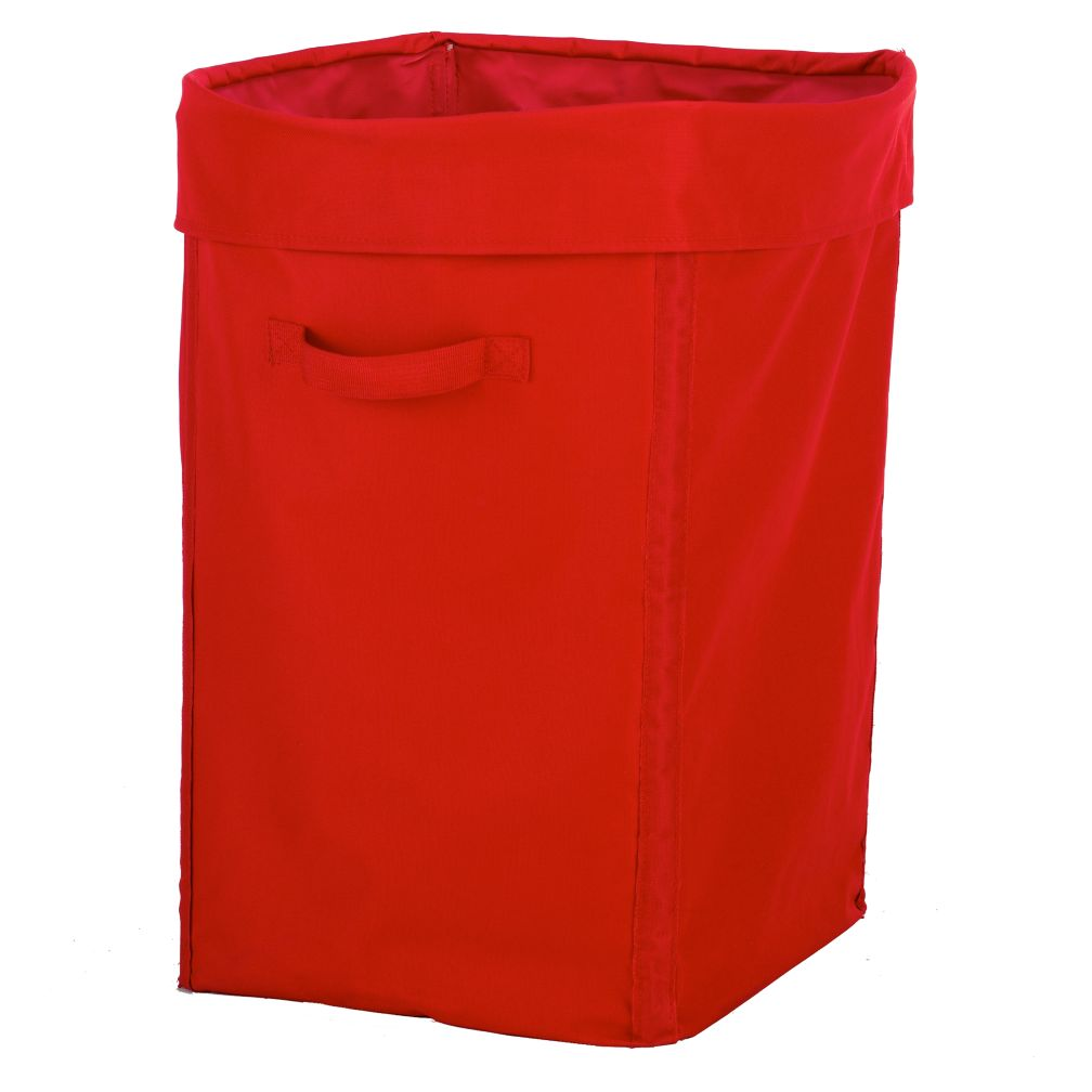 I Think I Canvas Red Hamper
