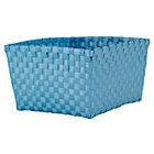 Light Blue Shelf Basket