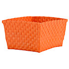 Orange Shelf Basket