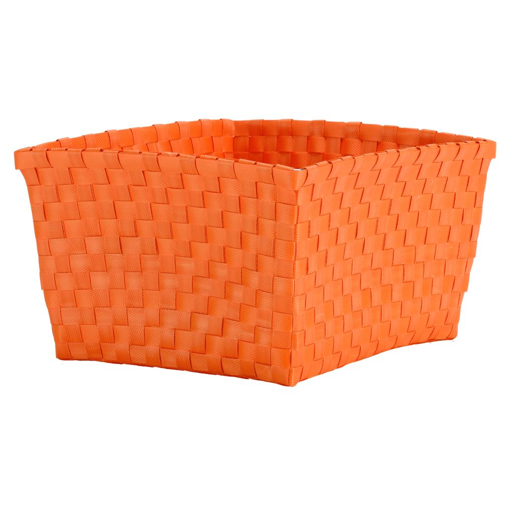 Strapping Shelf Basket (Orange)