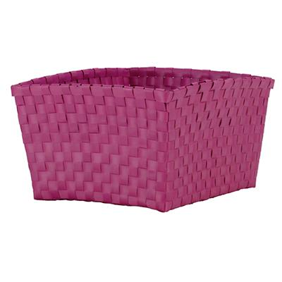 Strapping Shelf Basket (Hot Pink)