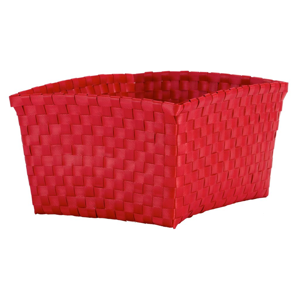 Strapping Shelf Basket (Red)