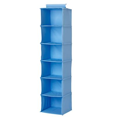 Lt. Blue Wide Hanging Organizer