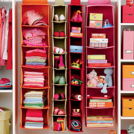 Closet storage kids room decor for Organizers for kids rooms