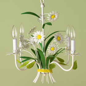 Whoopsie Daisy chandelier from The Land of Nod