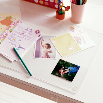 Kids Desk Accessories Clear Mats Acrylic Mat
