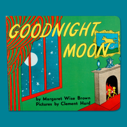 Kids Books: Goodnight Moon Board Book by Margaret Wise Brown - Goodnight Moon Board Book