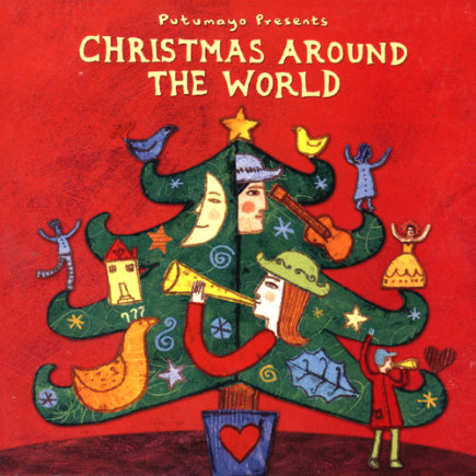 Kids Holiday Music CDs: Putumayo Presents: Christmas Around The World by Various Artisits - Christmas Around the World CD