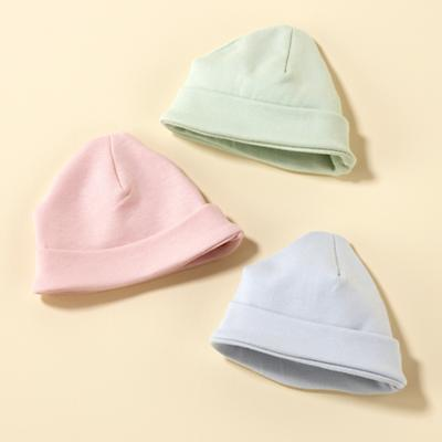 0-6 mos. Lt. Pink Cotton Baby Hat