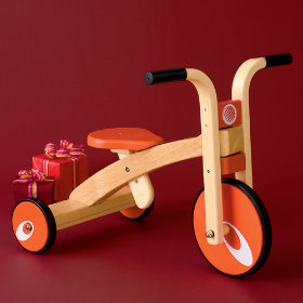 Kids Classic Red Wooden Trike