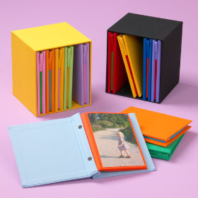 Six-in-One Photo Album Set :  photo set children album