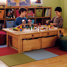 Kids Adjustable Activity Table