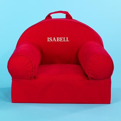 Red Personalized Nod Chair